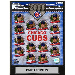 Chicago Cubs Team 2008 9x12 Baseball Photo Plaque