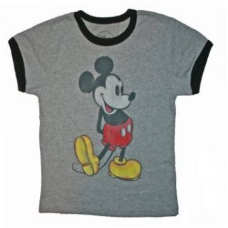 Mickey Mouse Boys Classic T Shirt (6/7, Grey) Clothing