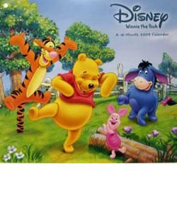 Winnie the Pooh 2009 Wall Calendar
