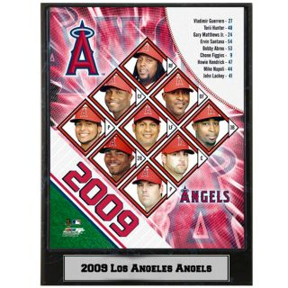 2009 Los Angeles Angels 9x12 inch Photo Plaque