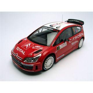 AUTOart 1/18 CITROEN C4 WRC   Winner Monte Carlo 0   Achat / Vente