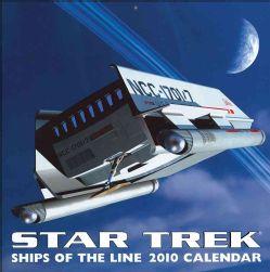 Star Trek Ships of the Line 2010 Calendar