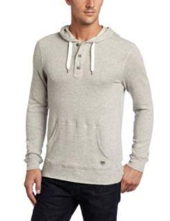 Levis Mens Freely Long Sleeve Shirt, Grey, XX Large
