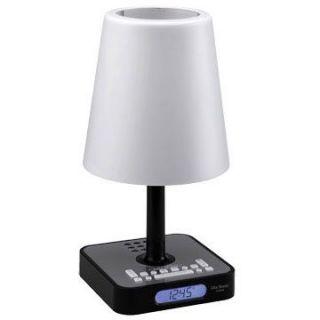 ClipSonic LH23N   Lampe radio réveil coloris noir   Achat / Vente