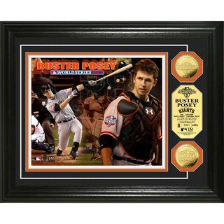 San Francisco Buster Posey 2012 World Series Gold Coin Photomint