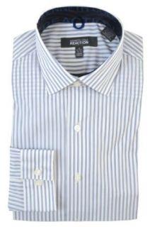 Kenneth Cole Reaction Mens Slim Fit Stretch Dress Shirt