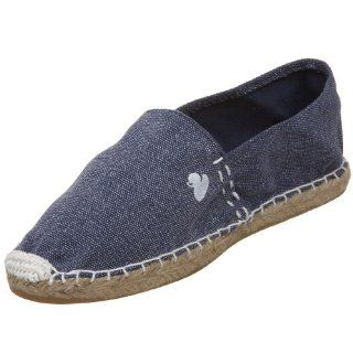 Rubber Duck Womens Julia Solid Espadrille,Denim,6 M Shoes