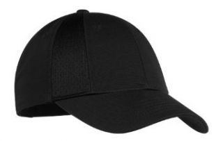 Mesh Insert Cap with Velcro Closure, Color Black, Size