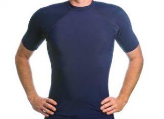 Beach Depot UPF 50+ Mens Short Sleeve Rash Guard Shirt