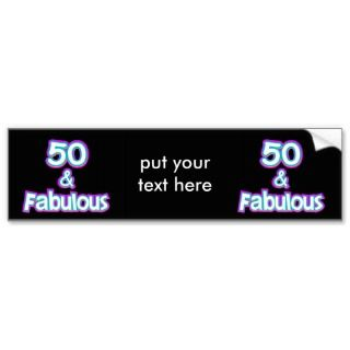 Happy 65th Birthday in Balloon Font Bumper Sticker