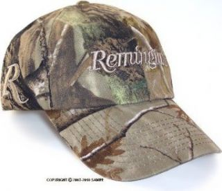 Remington® logo Camo 6 Panel Cap: Clothing
