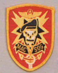 MAC SOG Vietnam Sew On Patch Clothing