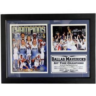 2011 NBA Champion Dallas Mavericks Frame