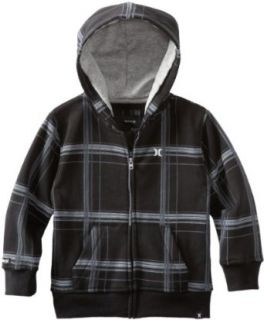 Hurley Boys 2 7 Puerto Rico Hoody, Black, 4T Clothing