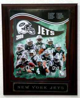 2008 New York Jets Picture Plaque