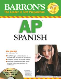 Barron`s 2008 AP Spanish