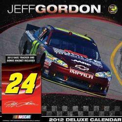 Jeff Gordon Nascar 2012 Calendar (Calendar)