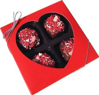 Chocolate Dipped Rice Krispie® Treat Gift Box for Valentines Day