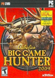 PC   Cabela`s Big Game Hunter 2009