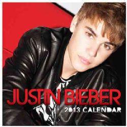 Justin Bieber 2013 Calendar (Calendar)