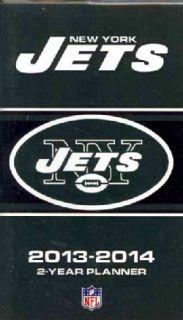 New York Jets NFL 2013 14 2 Year Planner (Calendar)
