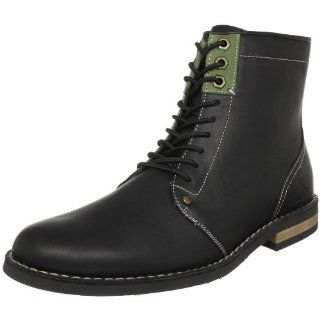 Original Penguin Mens Jerry Jeff Engineer Boot,Black,11.5 M US Shoes