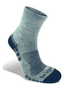 Bridgedale Endurance Trail Light Socks,Silver Navy,Medium