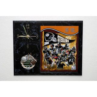 Pittsburgh Steelers 2008 Picture Clock