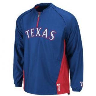 MLB Texas Rangers Long Sleeve Lightweight 1/4 Zip Gamer
