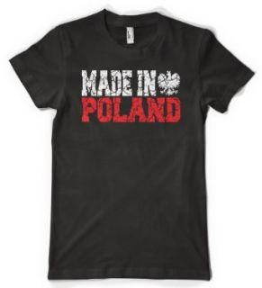 (Cybertela) Made In Poland Womens T shirt Nationality
