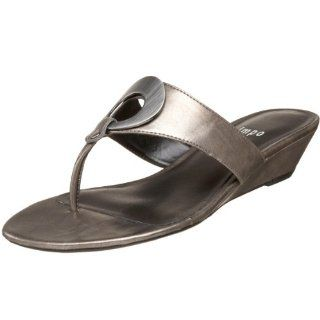 Impo Womens Rosario Thong Sandal,Pewter,5 M US Shoes