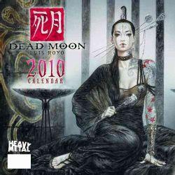 Dead Moon Luis Royo 2010 Calendar