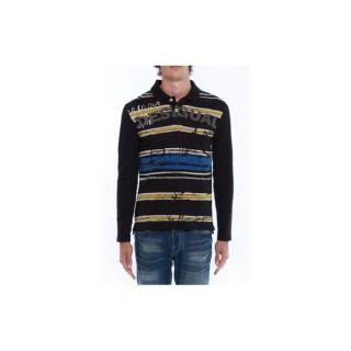Desigual Polo Jaime 29l1730/2000 Homme   M   Noir   Chic et sportswear