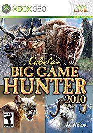 Xbox 360   Cabelas Big Game Hunter 2010