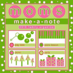Make a Note Family Organizer Square 2010 Calendar