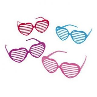 Heart Shaped Shutter Shading Glasses   Valentines Day