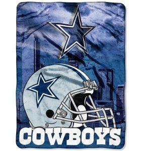 Dallas Cowboys NFL 60 X 80 Royal Plush Raschel Throw