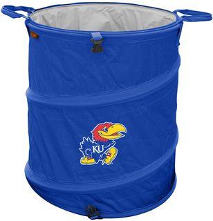 University of Kansas Jayhawks Trash Can
