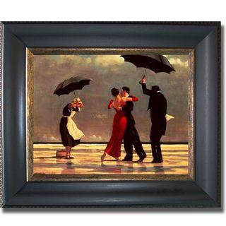 Jack Vettriano Singing Butler Framed Canvas Art