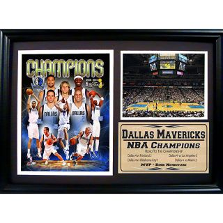 Dallas Mavericks 2011 NBA Champions Plaque