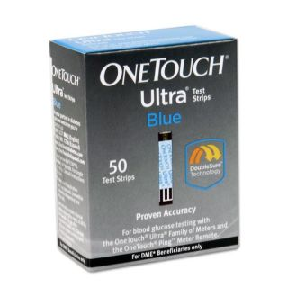 One Touch Ultra Blood Glucose 50 ct Test Strips (Pack of 6