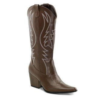Womens Cowboy Boots Cowgirl Boots Western Costume Black Brown Shoes