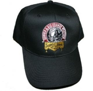 D&RGW 1920s Logo Embroidered Hat Hat Made In America