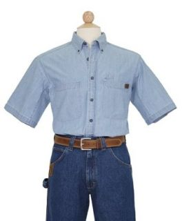 RIGGS WORKWEAR by Wrangler Mens Chambray Work Shirt