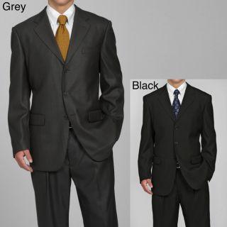 Eddie Domani Mens 3 button Suit