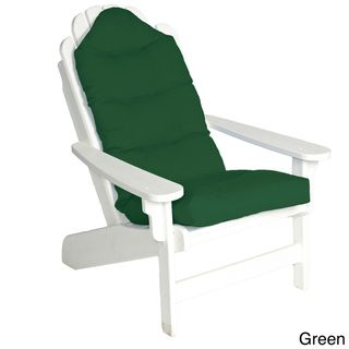 Outdoor All weather Adirondack Tufted Chair Cushion