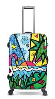 Heys USA Luggage Britto Palm 26 Inch Hardside Spinner
