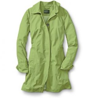 Eddie Bauer The Christine Trench Coat, Green Tea L Regular