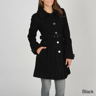 Vince Camuto Womens Cashmere Wool Blend Coat