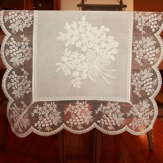 Authentic Turkish 70 inch Rectangular Embroidered Table Runner